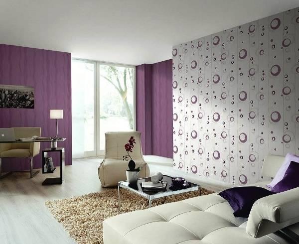 Как подобрать обои в гостиную двух цветов: фото, примеры и правила подбора материалов