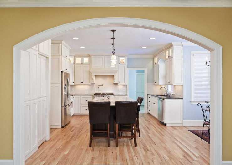 Дизайны арки для кухни с фотографиями
