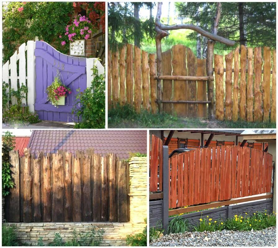 Красивые заборы для частных домов , фото , идеи заборов - школа ремонта