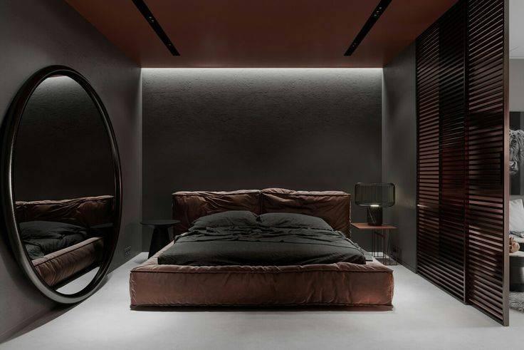 Тонкости оформления интерьера спальни в теплых тонах