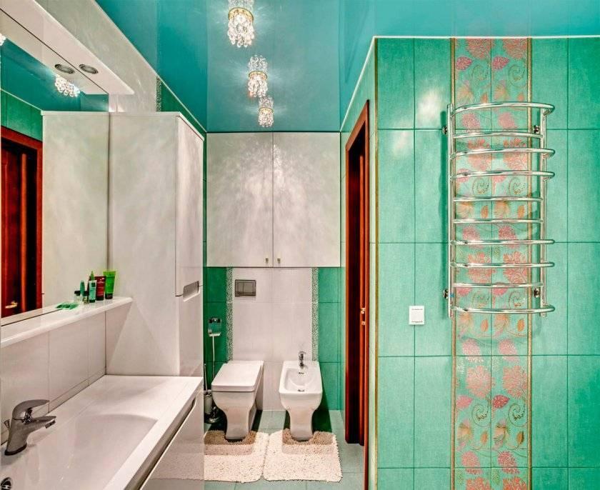 Какой выбрать потолок для ванной комнаты: 88 фото, современные идеи оформления