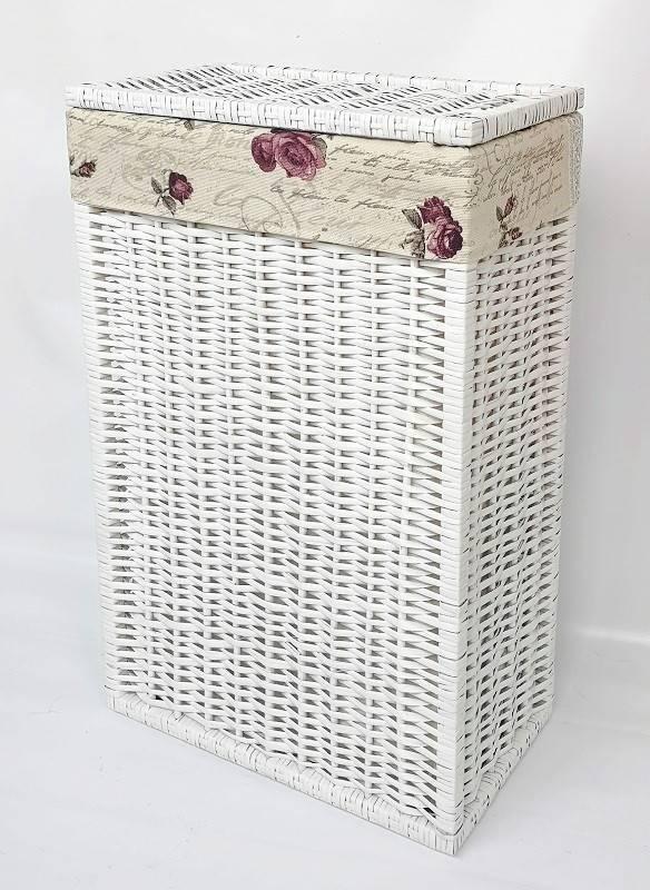 Особенности узкой корзины для белья