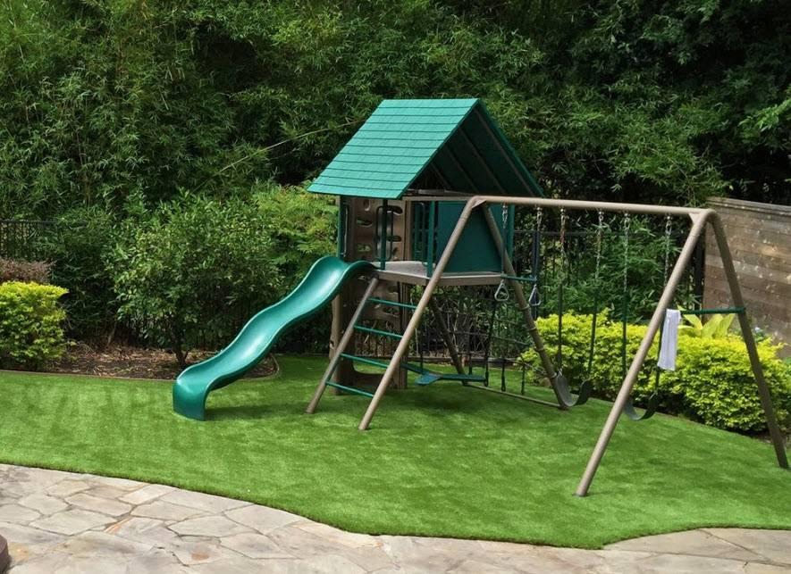 Как сделать детскую площадку своими руками во дворе или на даче из подручных материалов