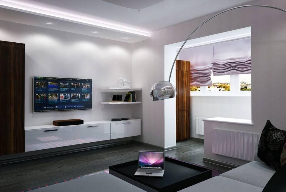 Кухня-гостиная 18 кв. м. [45 фото], идеи дизайна