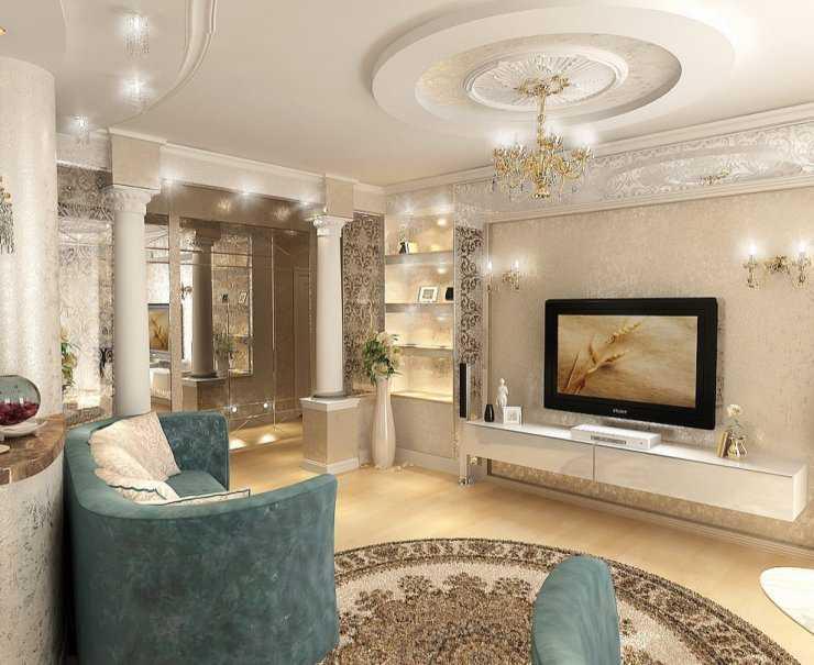 Классический дизайн квартиры: 110 фото элегантно оформленного интерьера