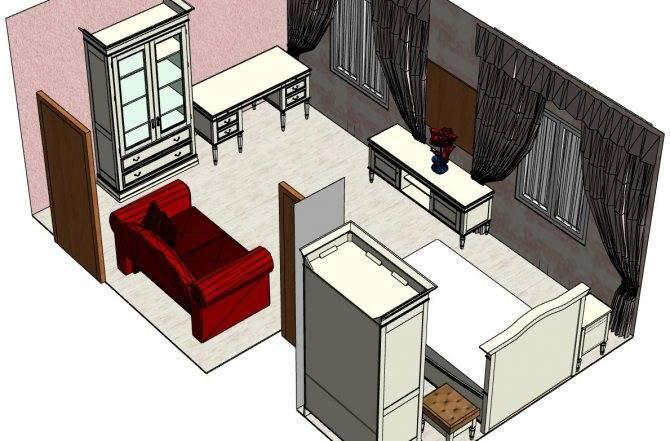 Особенности расстановки мебели в разных комнатах