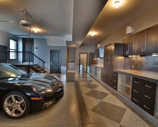 Фотогалерея дизайнерских идей для обустройства современного гаража
