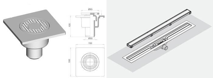 Как сделать слив для душа в полу: материалы, инструменты и монтаж