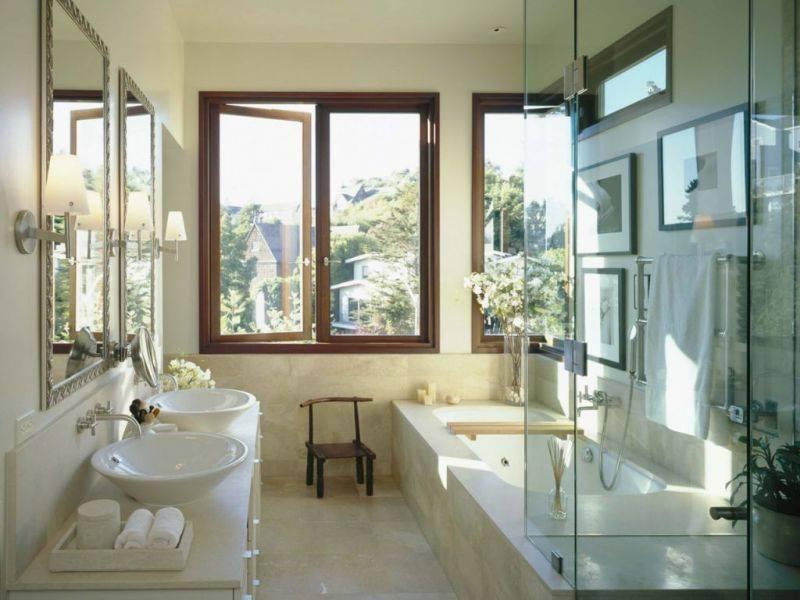Дизайн ванной 9 кв. м: особенности и примеры