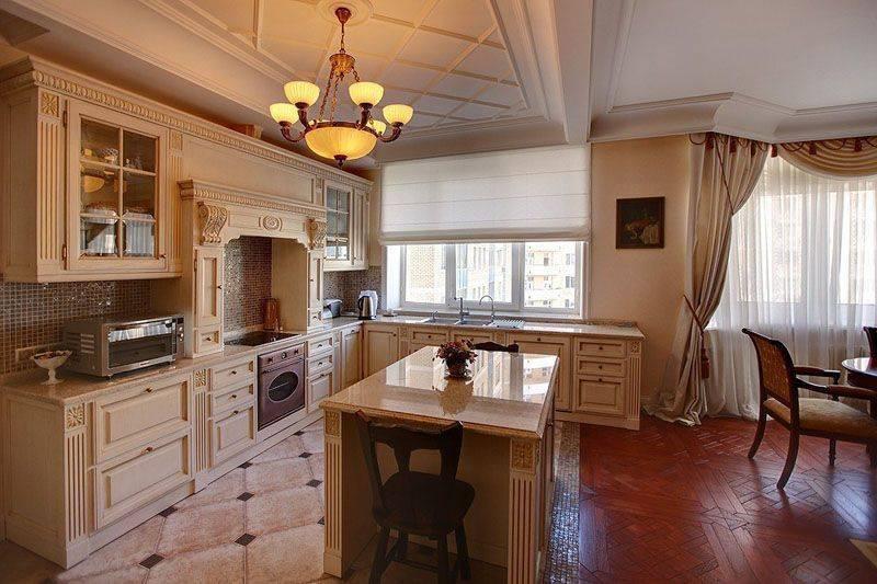 Кухня-гостиная на даче (30 фото): дизайн и примеры интерьеров
