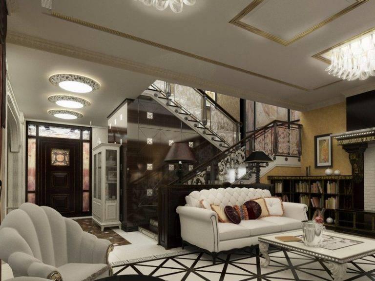 Гостиная в стиле арт-деко: модно ли в 2021 - 69 фото (реальные)