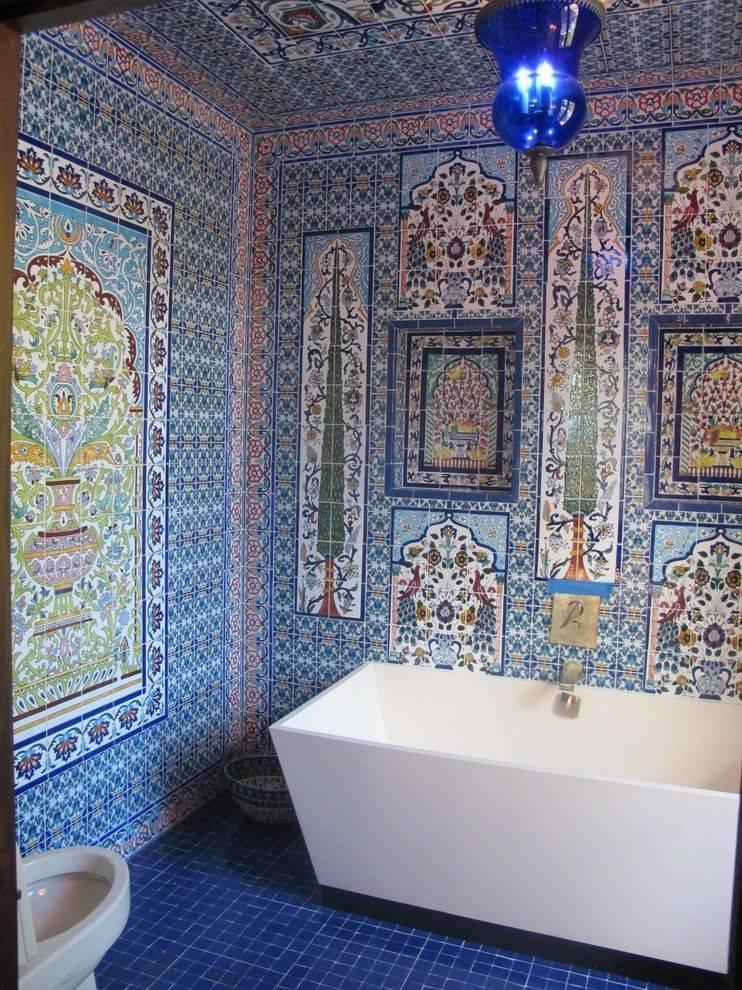 Варианты дизайна ванной в восточном стиле