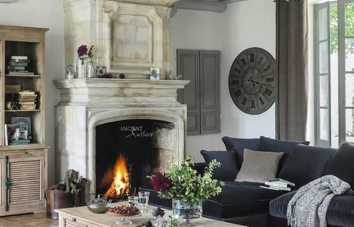 Стиль кантри в интерьере (спальня, гостиная, прихожая): варианты дизайна, фото » интер-ер.ру