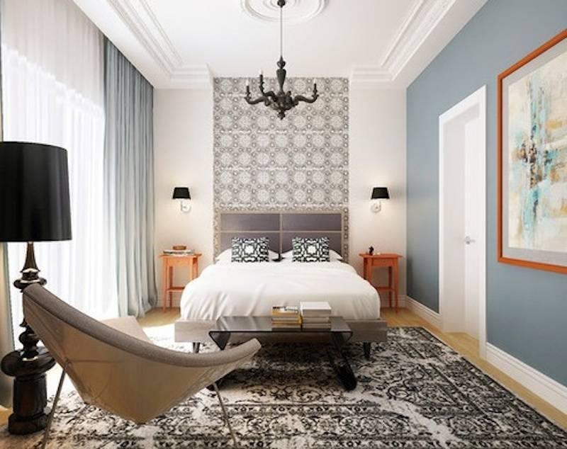 Советы по оформлению обоев в современном интерьере спальни