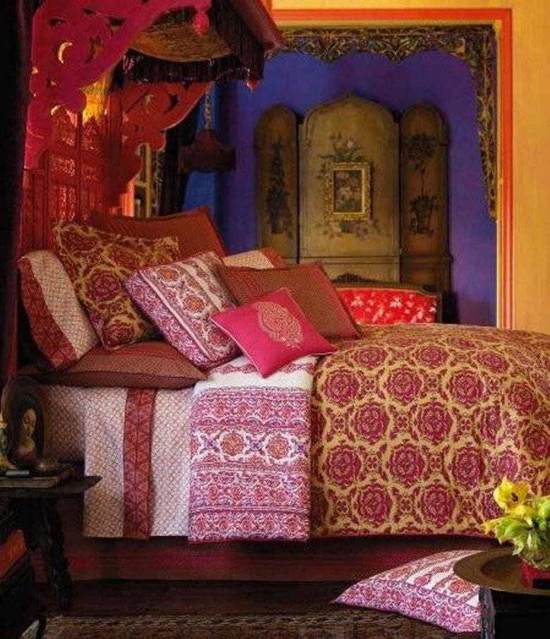 Обустраиваем спальню в восточном стиле