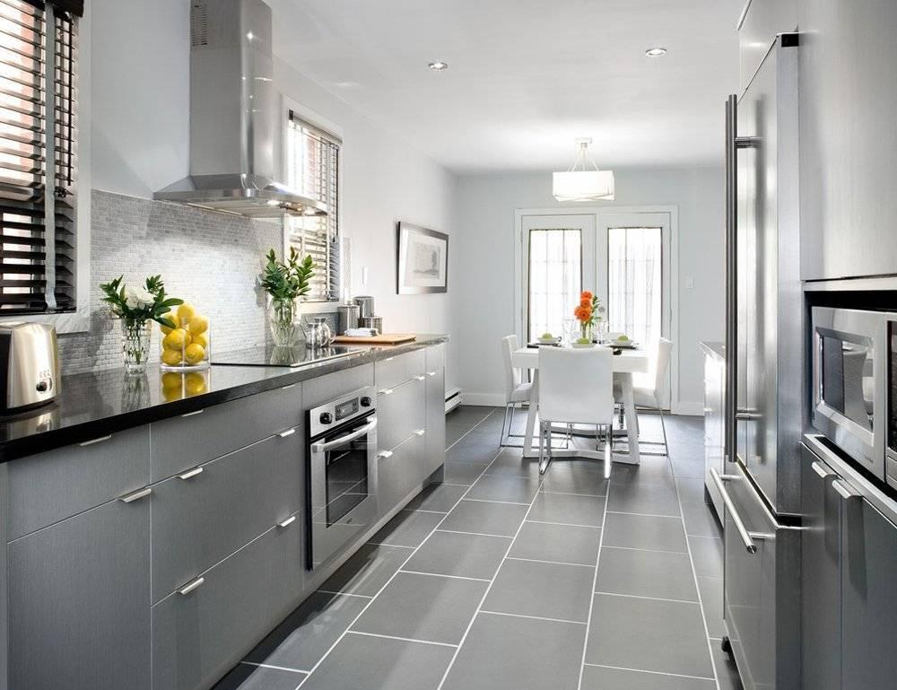 Серая кухня в интерьере: 250+ (фото) современного дизайна