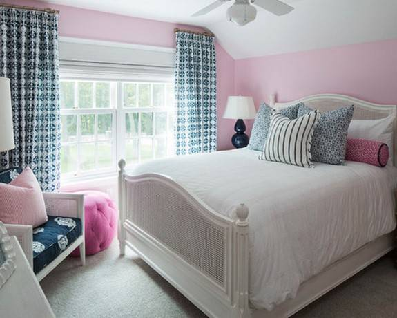 Тонкости оформления спальни в розовых тонах