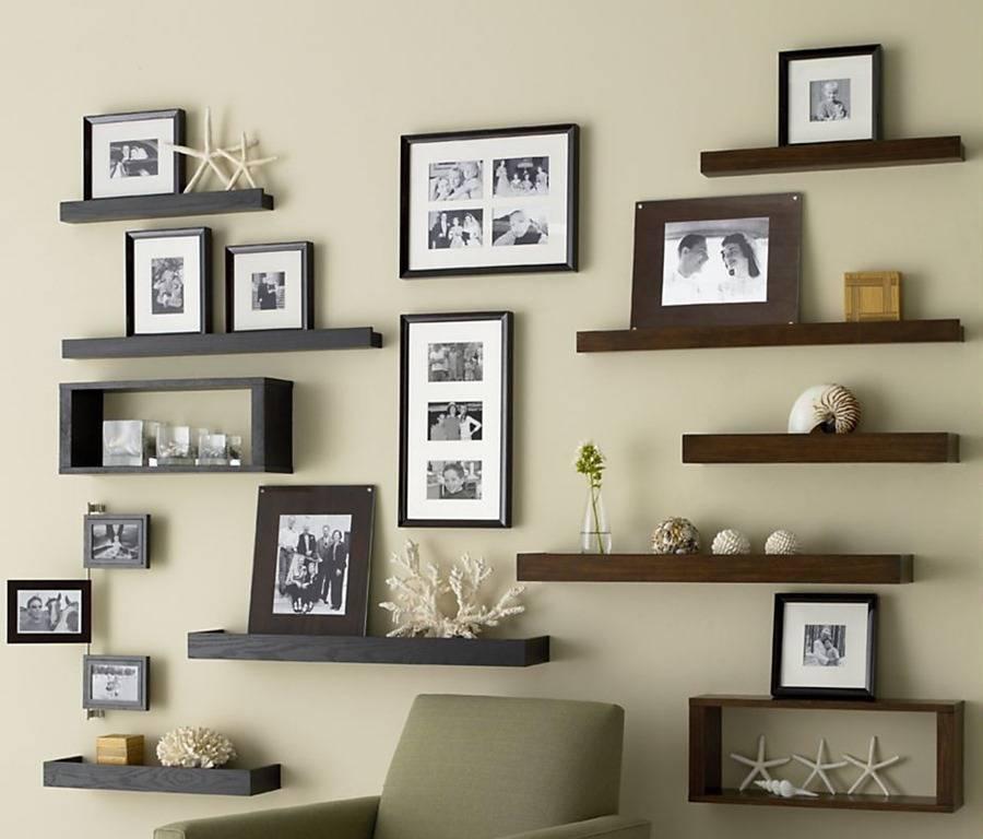 Полки на стену для книг и не только: идеи с фото в интерьере