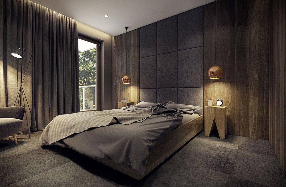 Синяя спальня: 100 фото новинок дизайна спальни синего цвета