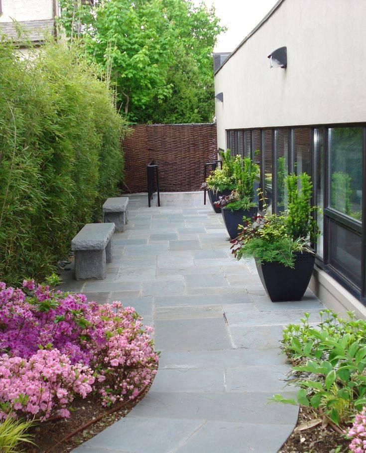 Дизайн маленького участка - лучшие идеи оформления, благоустройства и украшения участка небольших размеров (135 фото)