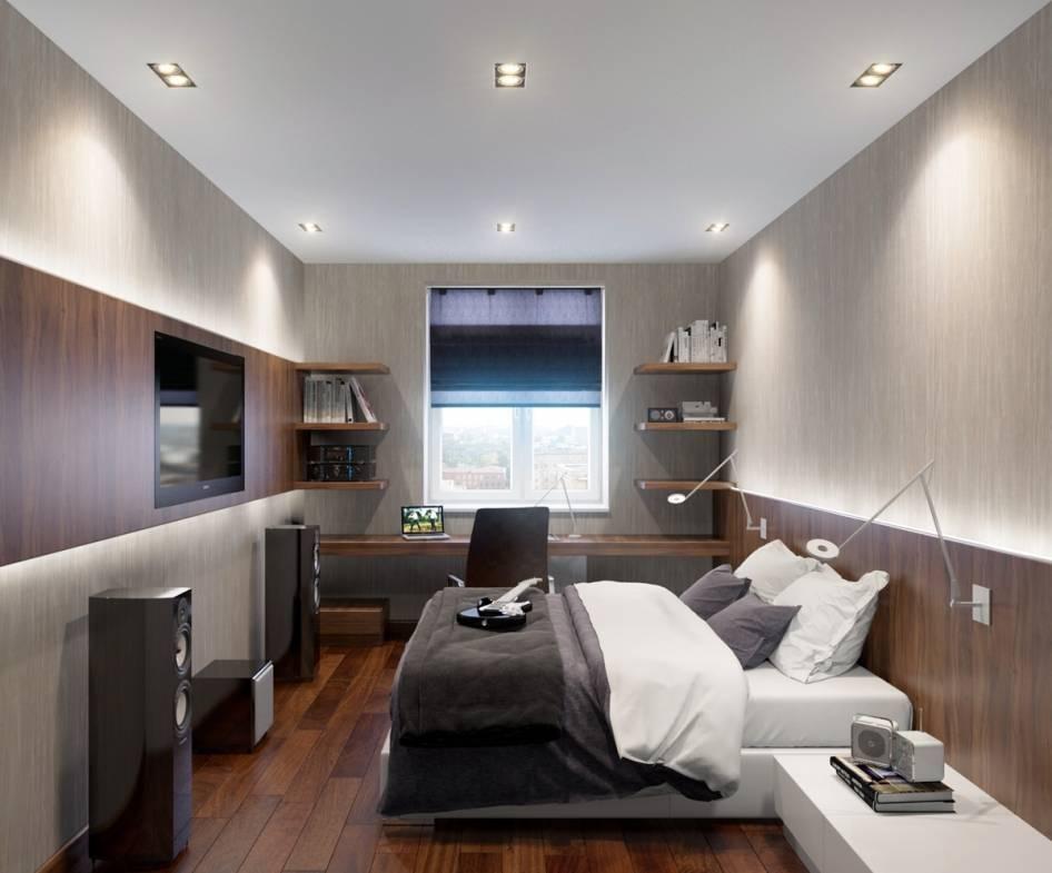 Дизайн прямоугольной комнаты (75 фото) - расширяем пространство