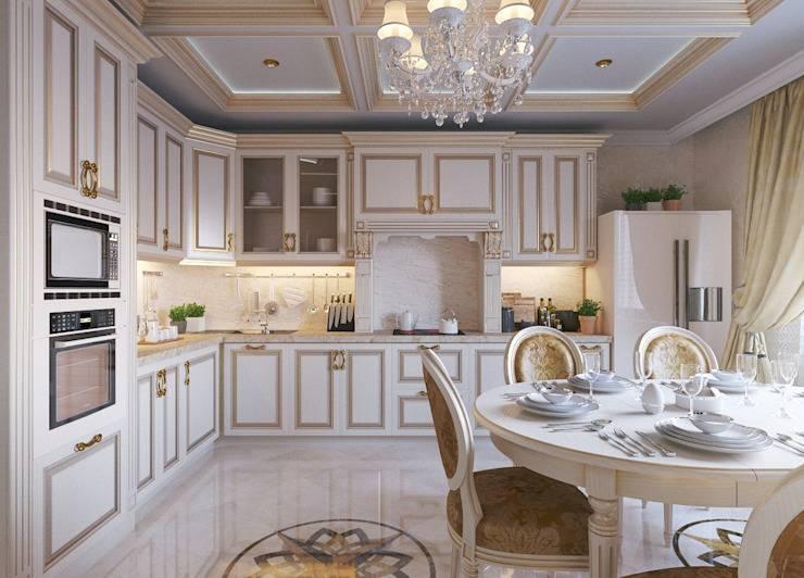 10 принципов дизайна кухни в классическом стиле