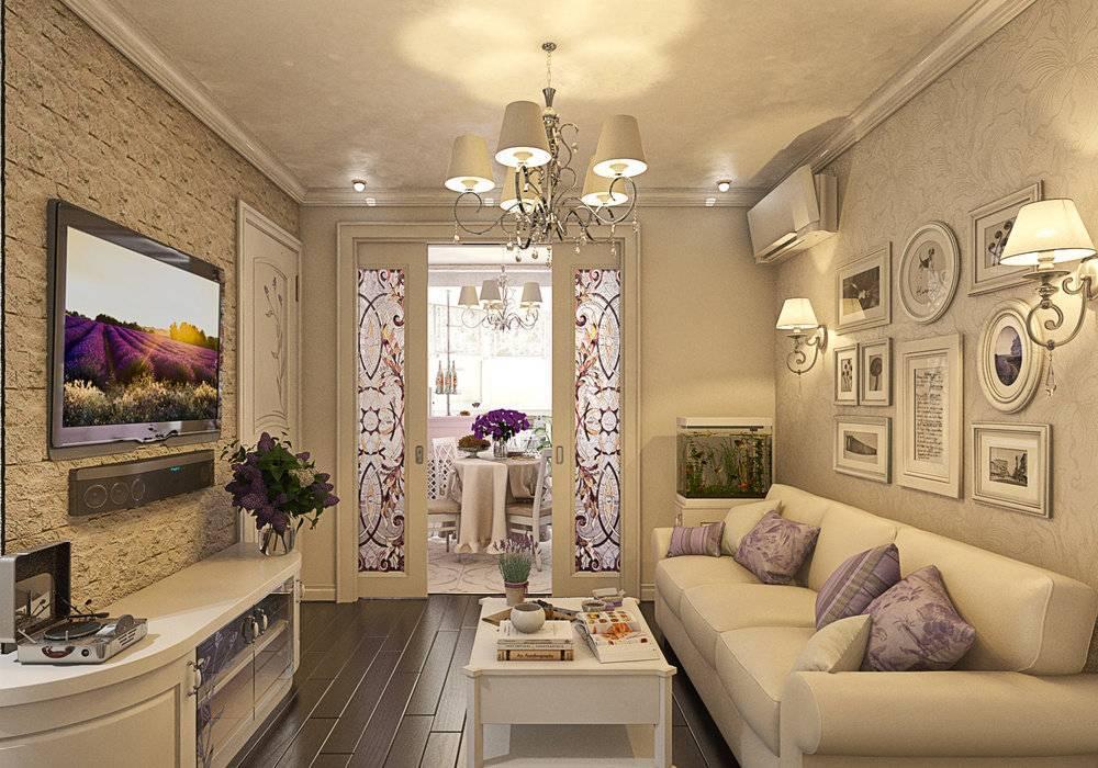 Как оформить интерьер кухни-гостиной в стиле прованс?