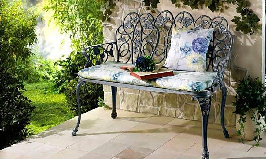 Садовые скамейки для дачи и сада