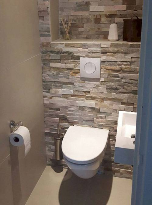Дизайн туалета в квартире: 21 фото, варианты с раковиной и инсталляцией