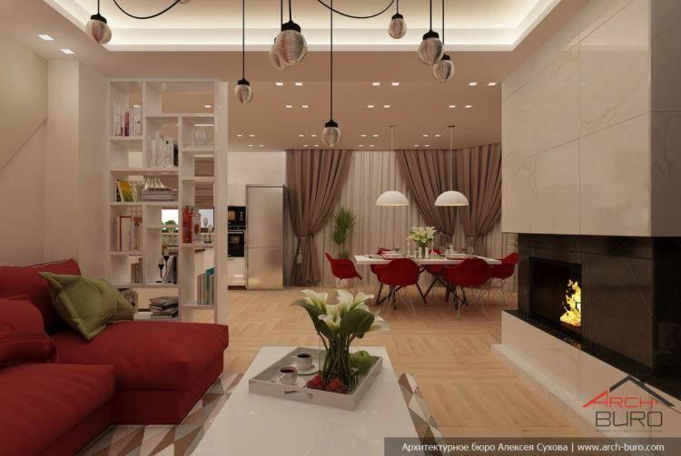 Зонирование кухни и гостиной: всего 3 совета для удачного дизайна
