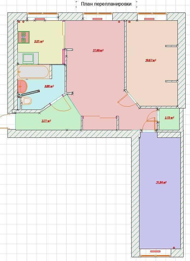(+75 фото) схемы и фото планировок 3х комнатных квартир удачные решения