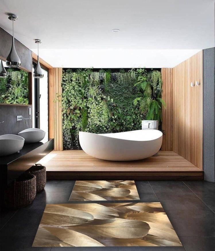 Какой выбрать коврик для ванной комнаты: виды, материал и формы ковриков