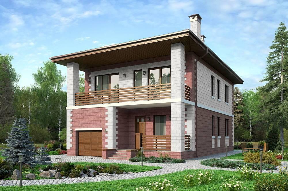 Балконы и террасы в частных домах и коттеджах: виды, проекты, дизайн на сайте недвио