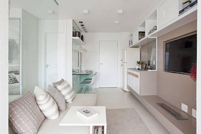 Дизайн квартиры-студии: идеи обустройства, освещение, стили, отделка