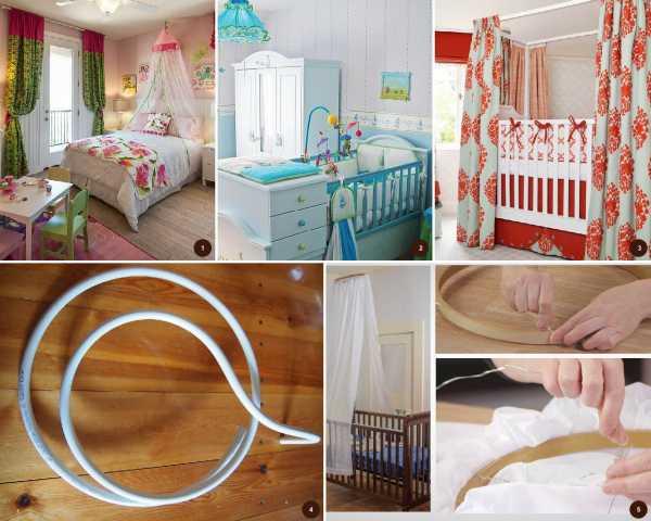 Балдахин на детскую кроватку: советы по выбору ткани, крепление, фото | для детской | mattrasik.ru