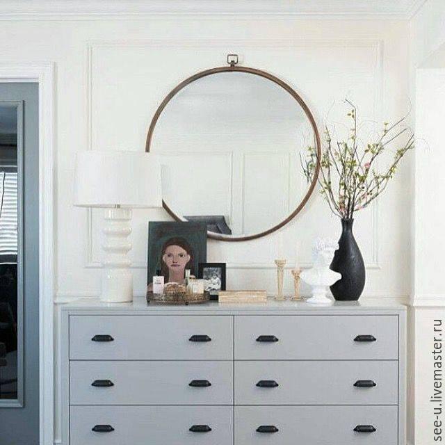 Особенности выбора комода с зеркалом в спальную комнату
