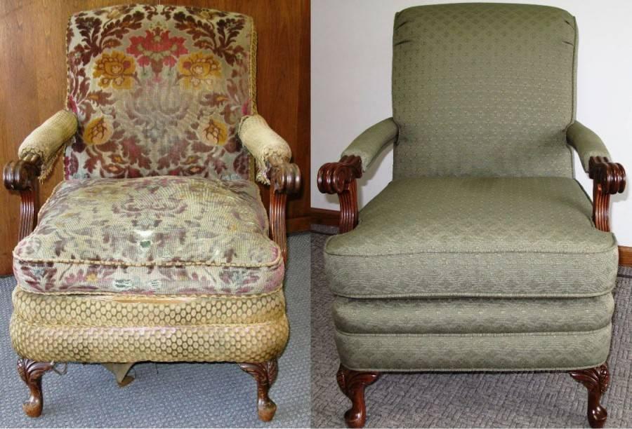 Перетяжка офисного кресла своими руками, чистка офисных кресел