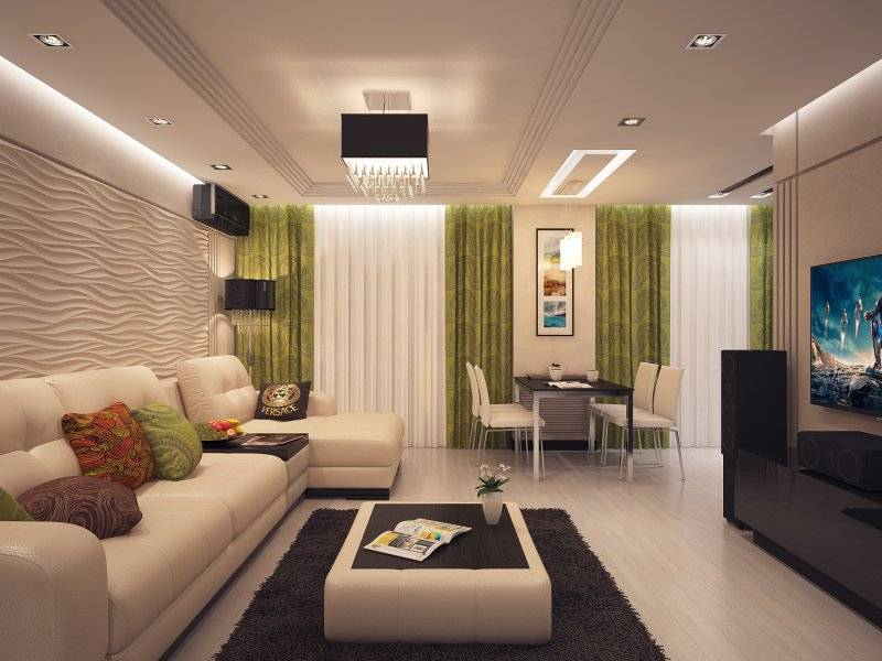 Гостиная в современном стиле: 100 фото лучших идей - дизайн интерьера