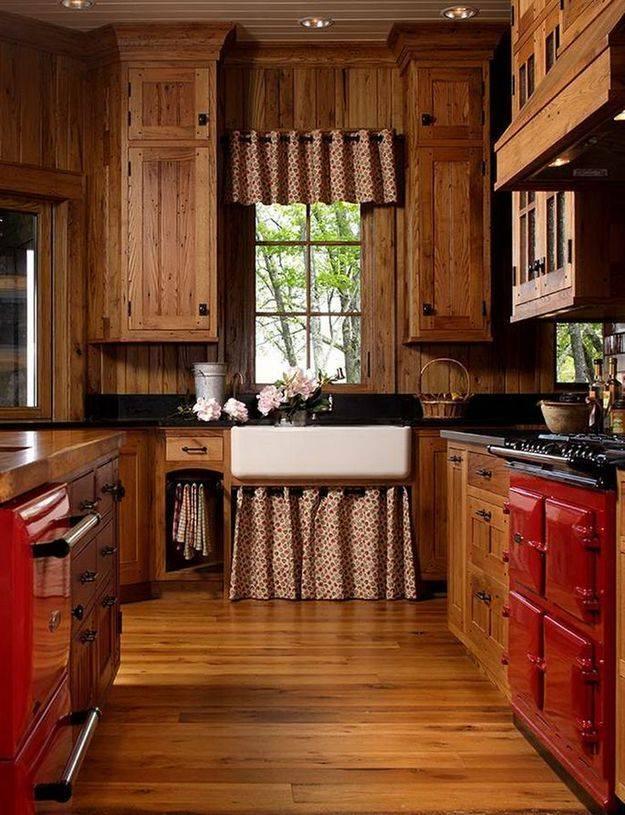 Деревенский стиль в интерьере загородного дома и квартиры - фото примеры
