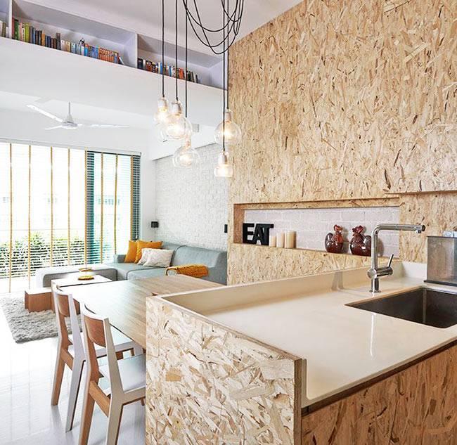 Выбираем лучшие панели для кухни: виды стеновых панелей