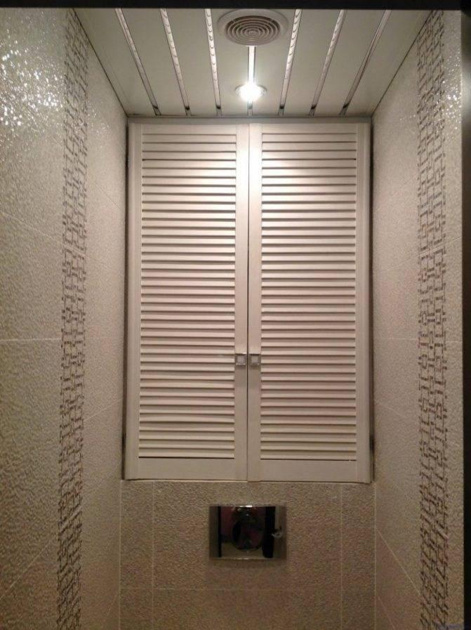 Особенности и виды сантехнических дверей в туалет