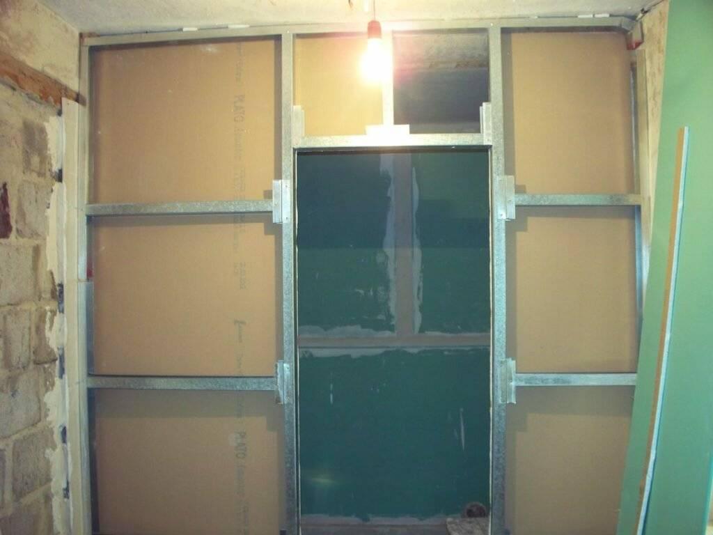 Как сделать стену из гипсокартона - 130 фото как правильно установить стену
