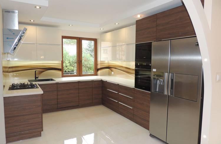 П-образная кухня — фото идей дизайна кухни буквой-п