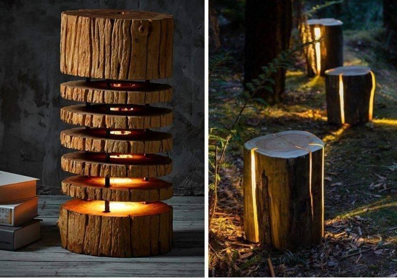 Садовая дорожка из спилов дерева своими руками: инструкция с фото, полезные советы
