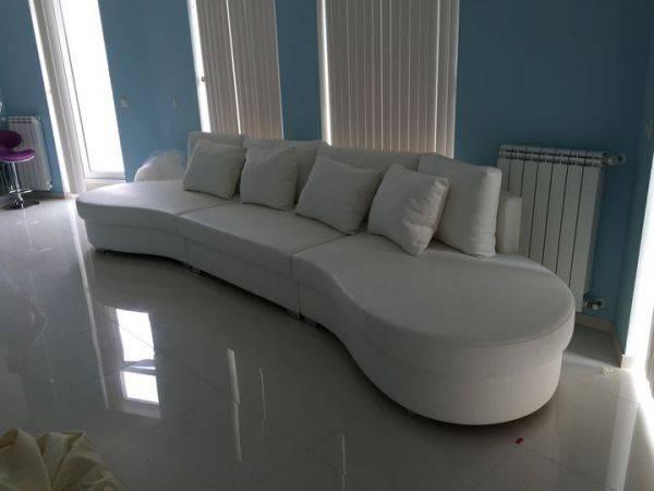 Полукруглый диван в интерьере: виды и преимущества   как выбрать круговой диван?
