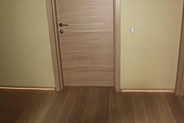 Двери, плинтус, пол – правильное сочетание в интерьере