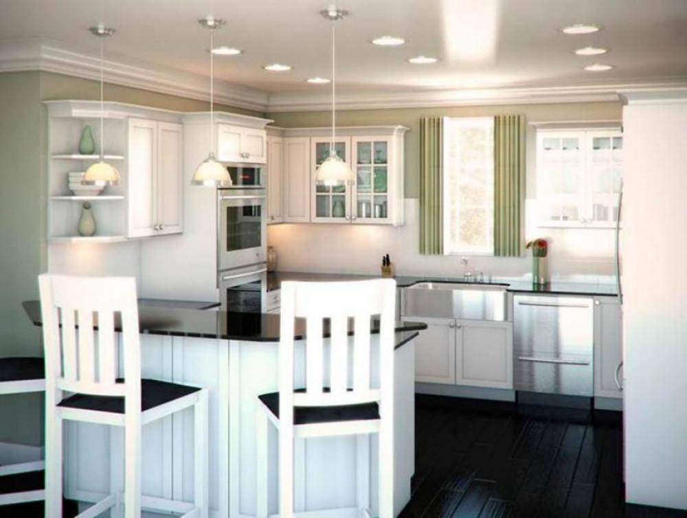 П-образная кухня: 100 фото красивых интерьеров, правила обустройства