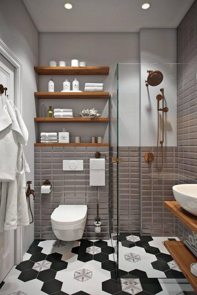 Ванная комната в скандинавском стиле (70 фото) - дизайн интерьера, идеи ремонта и отделки