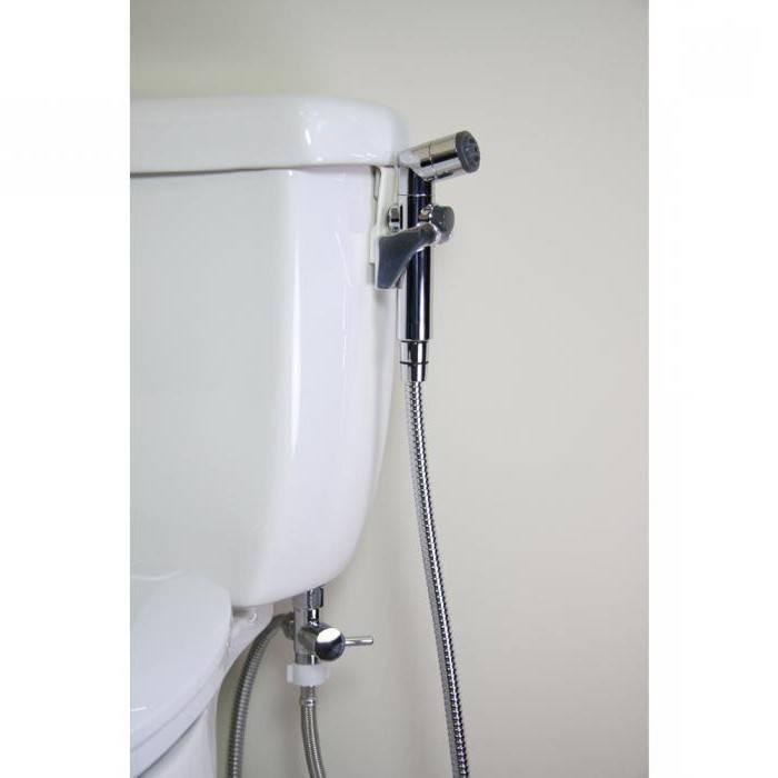 Гигиенический душ для унитаза: варианты исполнения и монтажа