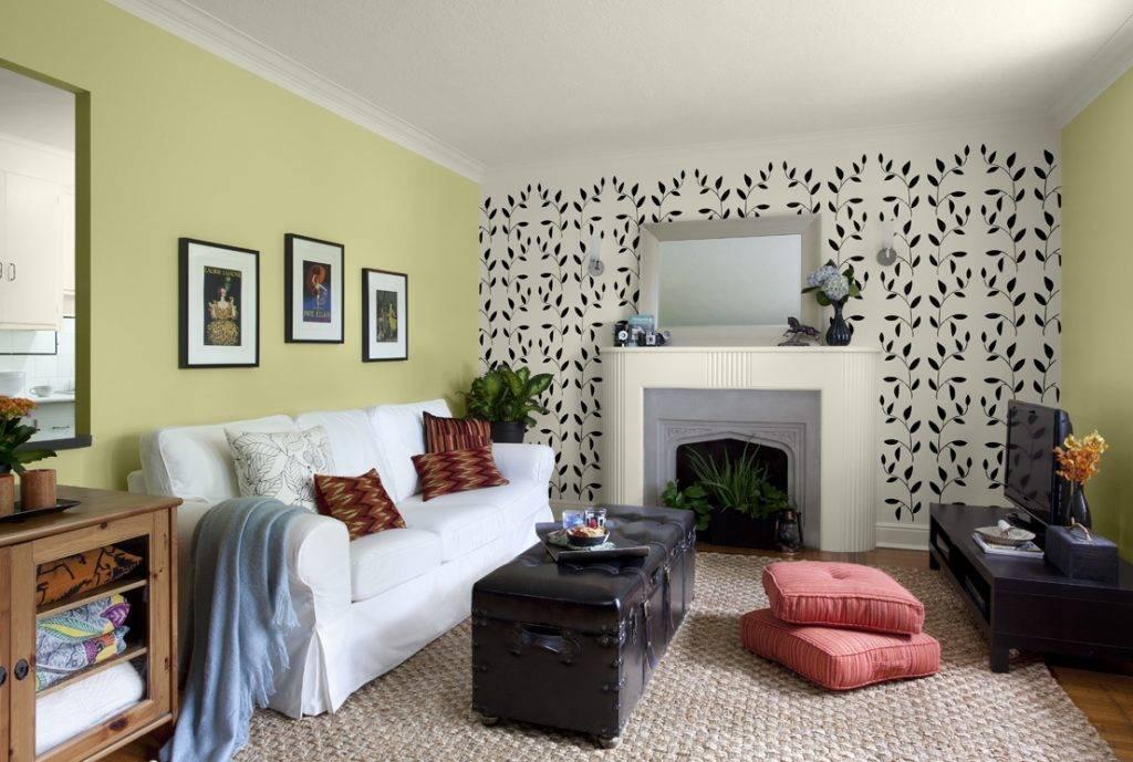 Обои компаньоны для стильного интерьера спальни, гостиной, кухни